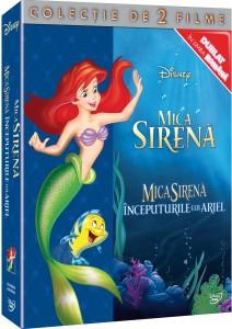 DVD-box Little Mermaid