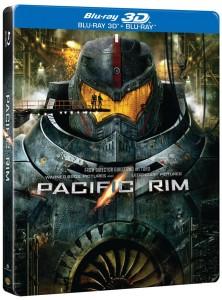 Pacific Rim BD-Steelbook-3D pack