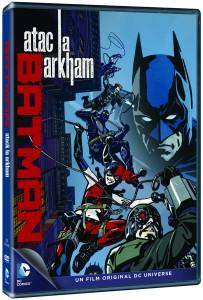 Batman Assault on Arkham-DVD_3D pack