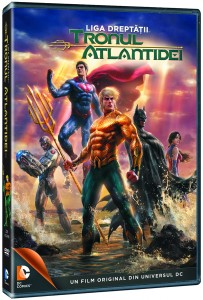 Justice League Throne of Atlantis-DVD_3D pack