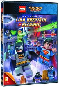 Lego DC Justice League vs. Bizarro League-DVD_3D pack