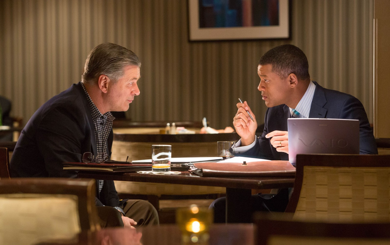 Will Smith și Alec Baldwin, Sony Pictures
