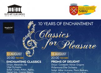 Classic for Pleasure 2020: Începe a X-a ediție a festivalului Classics for Pleasure pe 13 august!